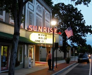 Sunrise Theater Southern pines NC