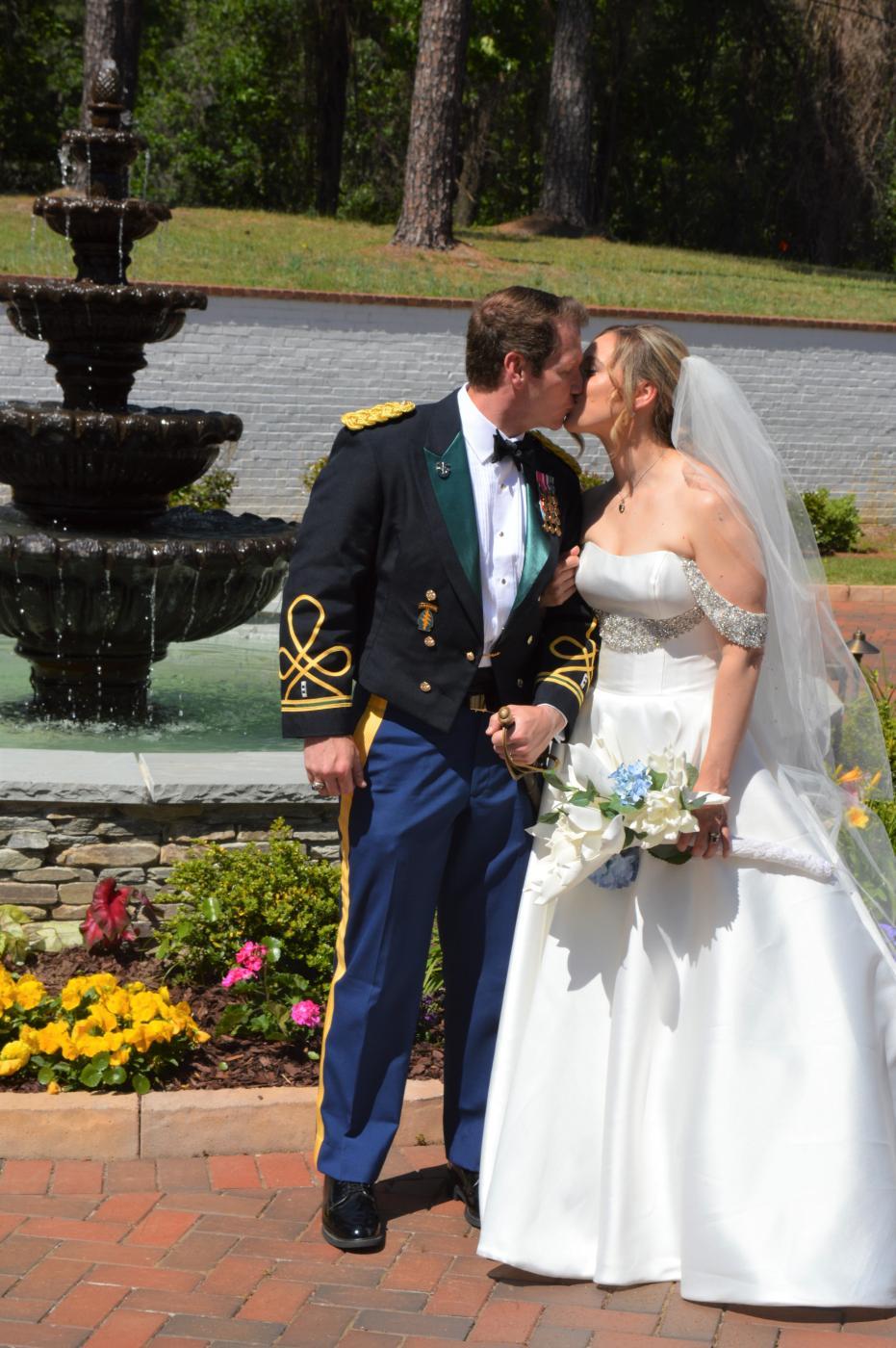 Military NC Wedding